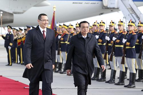 0e84761cfe Premier Li Keqiang Arrives in Bucharest to Attend China-CEEC Summit ...