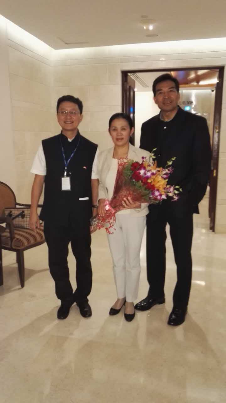 Chinese Ambassador Luo Zhaohui Arrived In India
