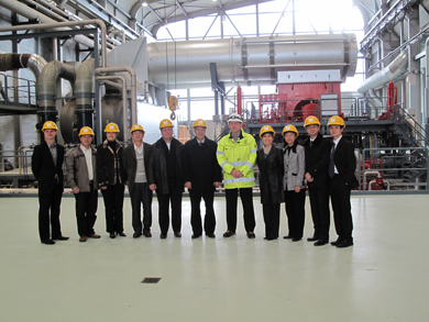 invited by geysir green energy company ambassador su geand staff of chinese embassy in iceland have just paid a visit to reykjanes geothermal power plant - Power Plant Engineer