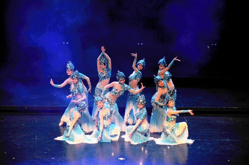The successful premiere of happy chinese new year for Consul performance