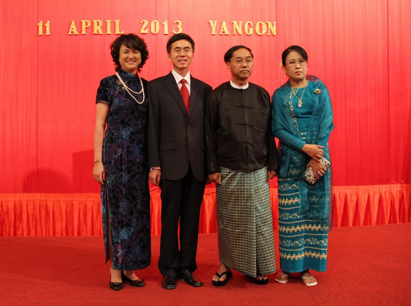 Chinese Embassy in Myanmar Hosts Welcome Receiption for Chinese
