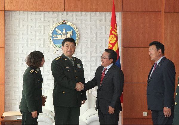 Top 10 News of China-Mongolia Military Exchanges — Embassy