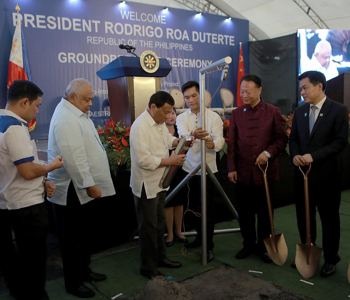 Two China-Aid Bridges Project Breaks Ground in Manila
