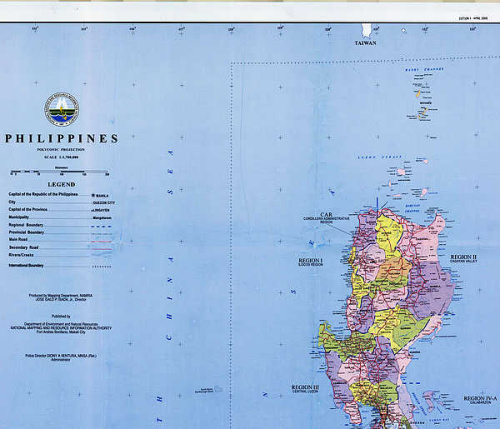 The Official Maps Of The Philippines Have Never Marked Huangyan - Huangyan map