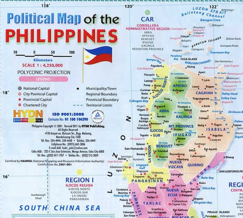 The Official Maps Of The Philippines Have Never Marked Huangyan