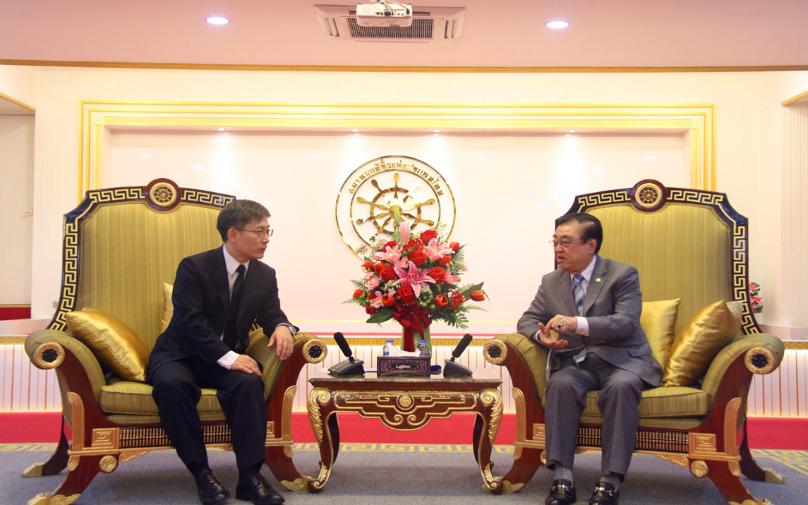 Ambassador Lyu Jian Fully Recognized The Contribution Made By Thai Chinese Chamber Of Commerce Thailand And Tio Chew Association Over Years In