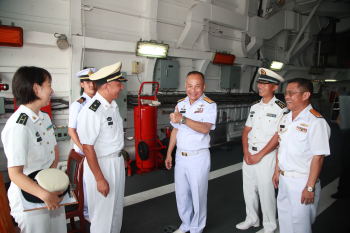 Chinese Naval Fleet Arrived in Thailand for Visit
