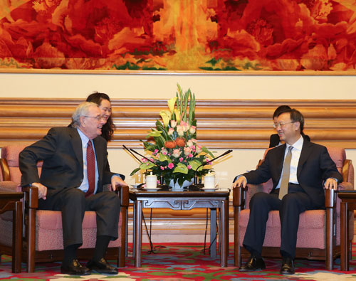 """an analysis of the letter for the ambassador yang jiechi Beijing — the letter wishing china a """"prosperous year of the  spoke by  telephone last week with china's top diplomat, yang jiechi  her husband,  jared kushner, has also held behind-the-scenes talks with ambassador cui  tiankai,  in a separate analysis piece, it quoted experts as saying the letter."""