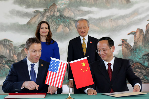 ... the Chinese Embassy in Washington D.C.on December 10. Ambasadaor Cui Tiankai attended and addressed the ceremony. Mr.Gu Yucai, China's Deputy Director ...